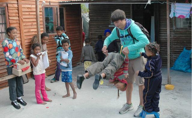 kulu manzi südafrika kapstadt soziales projekt unterstützung
