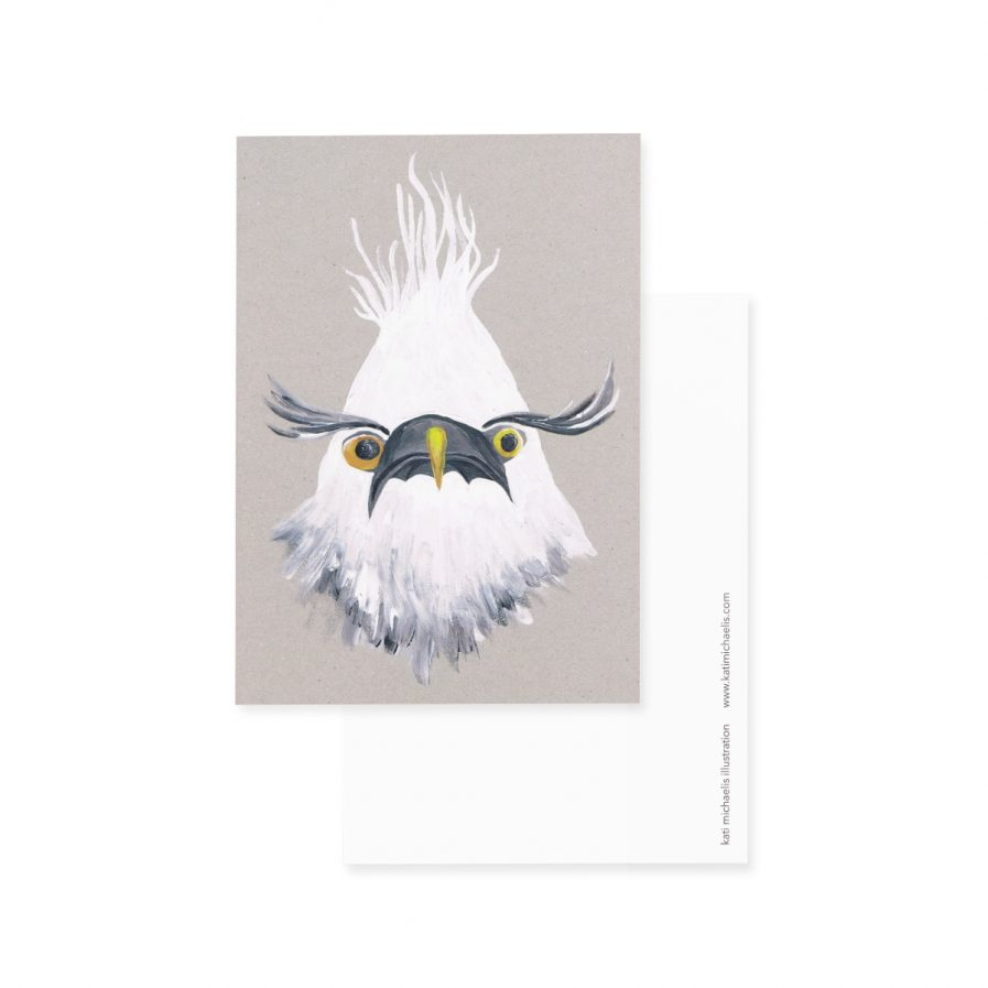 Kati Michaelis Illustrations Postkarte dressgoat