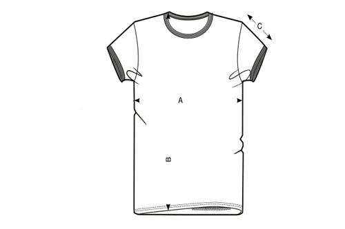 Wavinity - Frauen Ringer Shirt - Light Grey