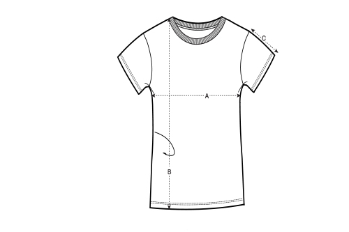 Basics - Frauen Shirts - 2er Pack