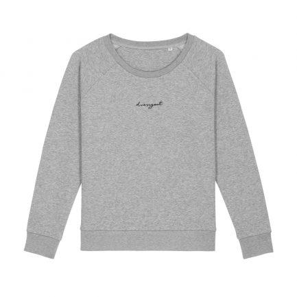 dressgoat faire kleidung köln ehrenfeld nachhaltige pullis frauen sweater bio baumwolle fair fashion