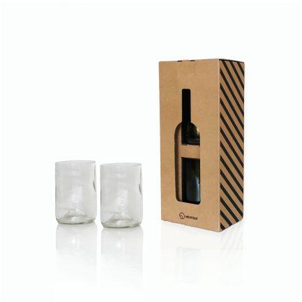 Rebottled recycelte Gläser aus Weinflaschen dressgoat Köln Ehrenfeld